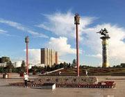 呼伦贝尔海拉尔成吉思汗广场介绍