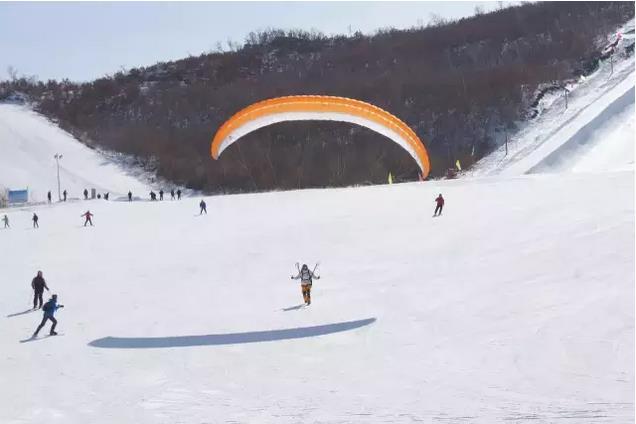 呼伦贝尔扎兰屯金龙山滑雪场介绍