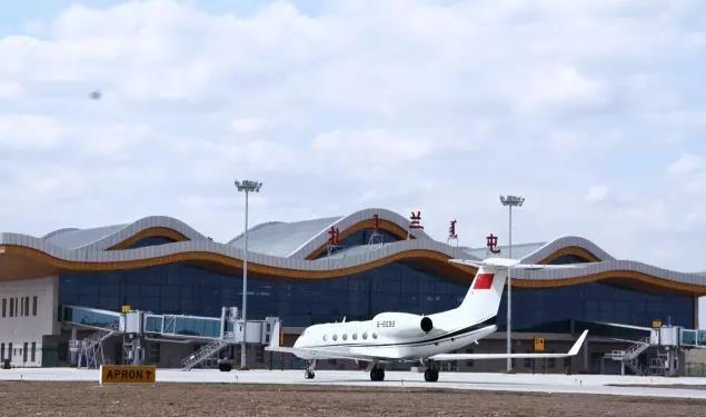 呼伦贝尔扎兰屯机场飞机