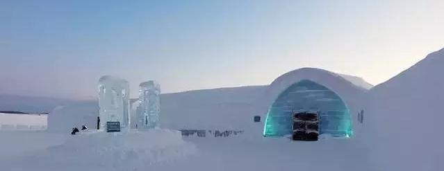 呼伦贝尔根河敖鲁古雅Ice Hotel用冰雪打造的酒店