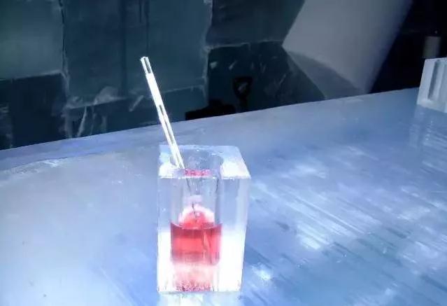 呼伦贝尔根河敖鲁古雅Ice Hotel酒杯