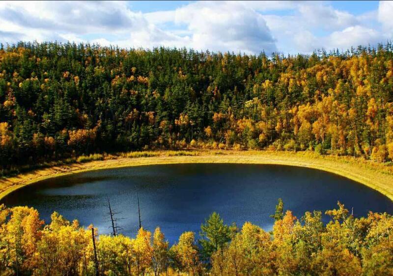 莫尔道嘎国家森林公园熊谷
