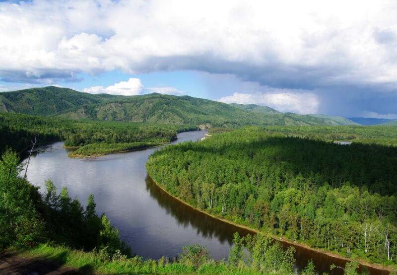莫尔道嘎国家森林公园之九曲松风