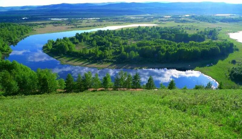 莫尔道嘎国家森林公园的美人湖