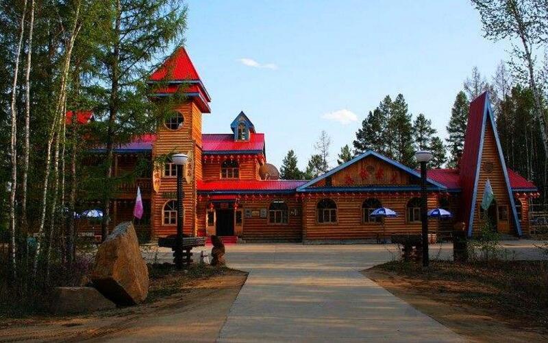 莫尔道嘎国家森林公园之白鹿岛度假村