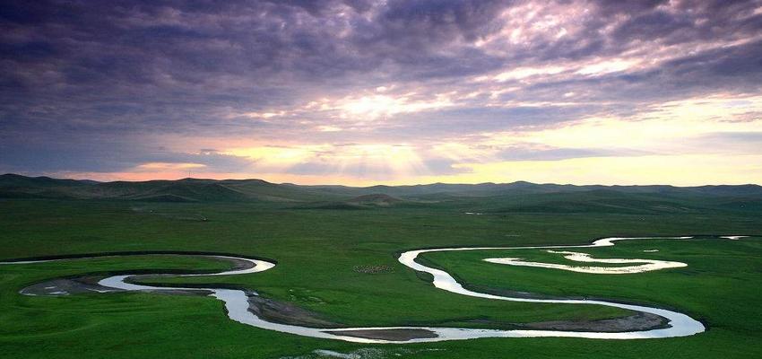 呼伦贝尔大草原莫日格勒河