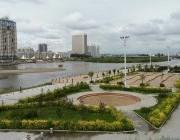 景色迷人的海拉尔伊敏河公园