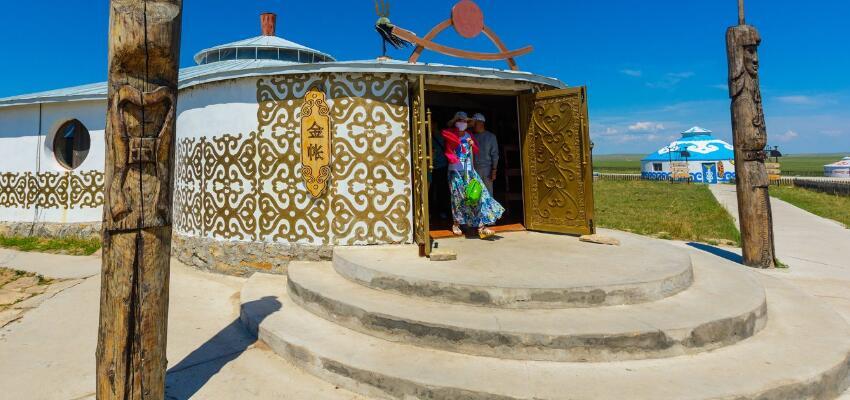 巴尔虎蒙古部落景区 蒙古部落旅游