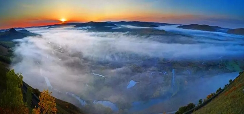 得耳布尔卡鲁奔国家湿地公园卡鲁奔山