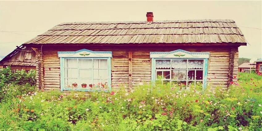 呼伦贝尔俄罗斯风土民情的临江村