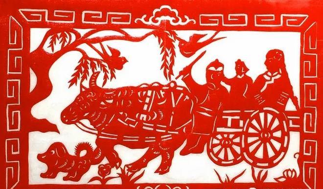 达斡尔族的剪纸艺术古老而又美丽