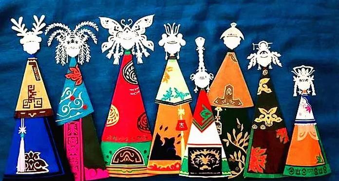 达斡尔族的剪纸艺术