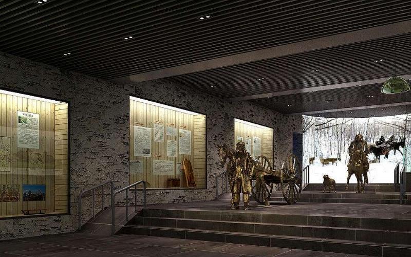 呼伦贝尔大草原鄂温克民族博物馆图片