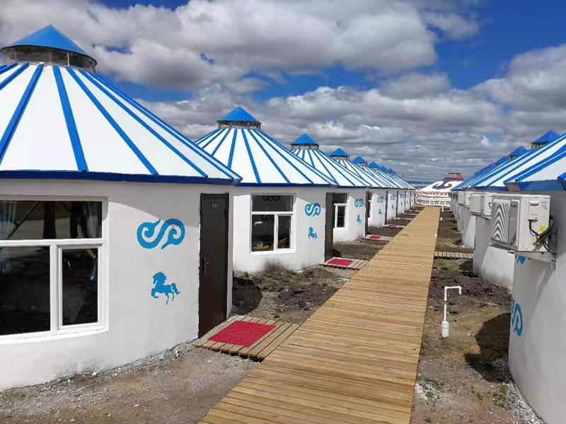 呼伦贝尔住宿蒙古包多少钱以及蒙古包里面内部图片