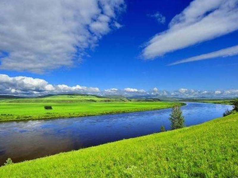 呼伦贝尔大草原、满洲里、大兴安岭原始森林四日游草原