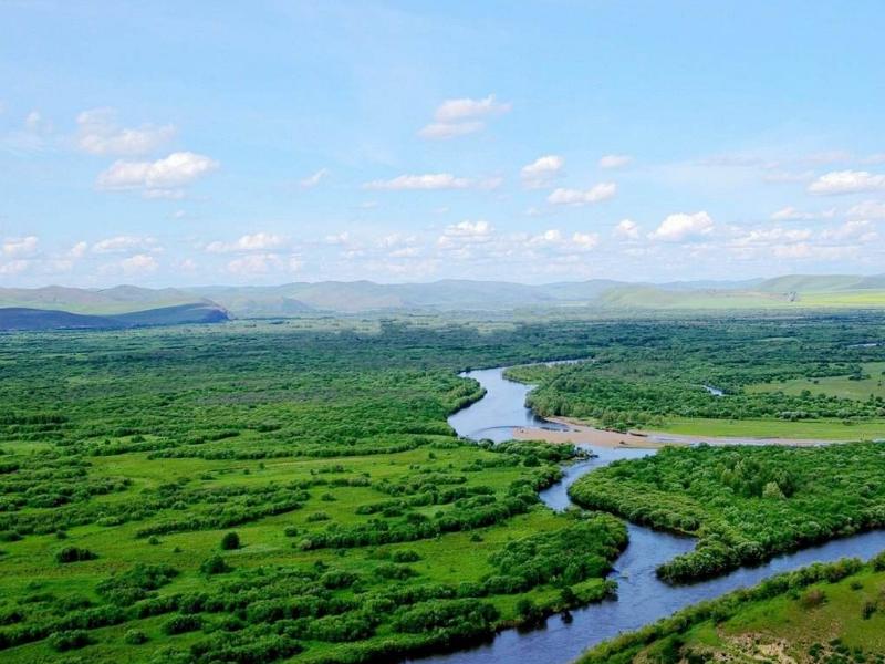 呼伦贝尔拉布大林开通到额尔古纳湿地公交旅游专线湿地