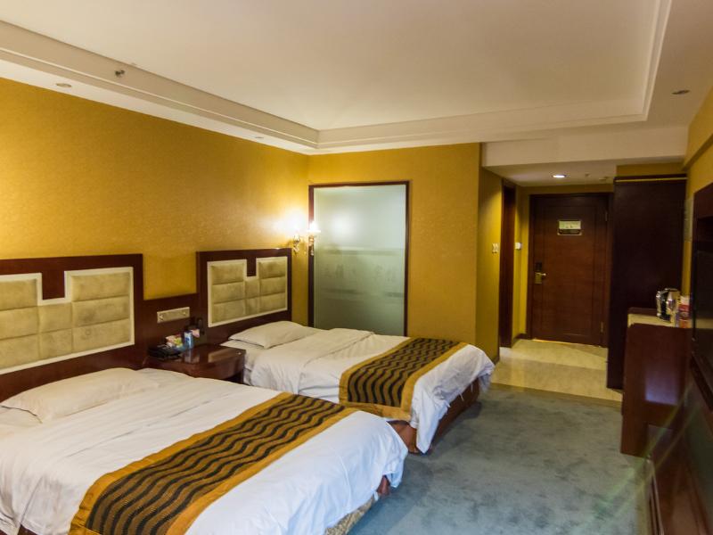 呼伦贝尔海拉尔立领大酒店大床房