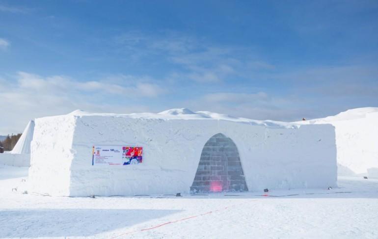 12月呼伦贝尔冰雪酒店体验