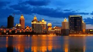 满洲里市夜景有多美须知