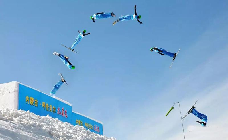 2018-2019年度扎兰屯全国滑雪四项冠军赛图片