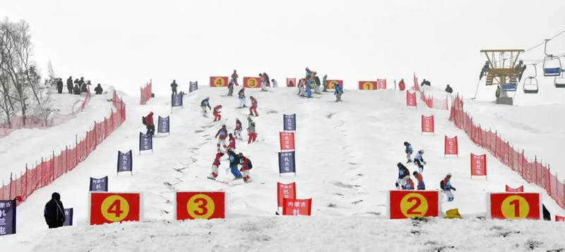 2018-2019年度扎兰屯全国滑雪四项冠军赛情况