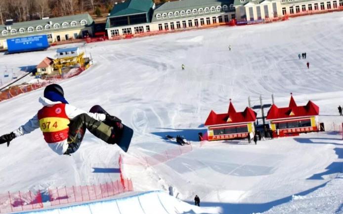 全国第十四届冬季运动会测试赛闭幕