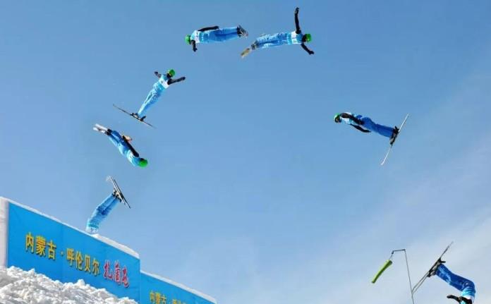 全国第十四届冬季运动会测试赛
