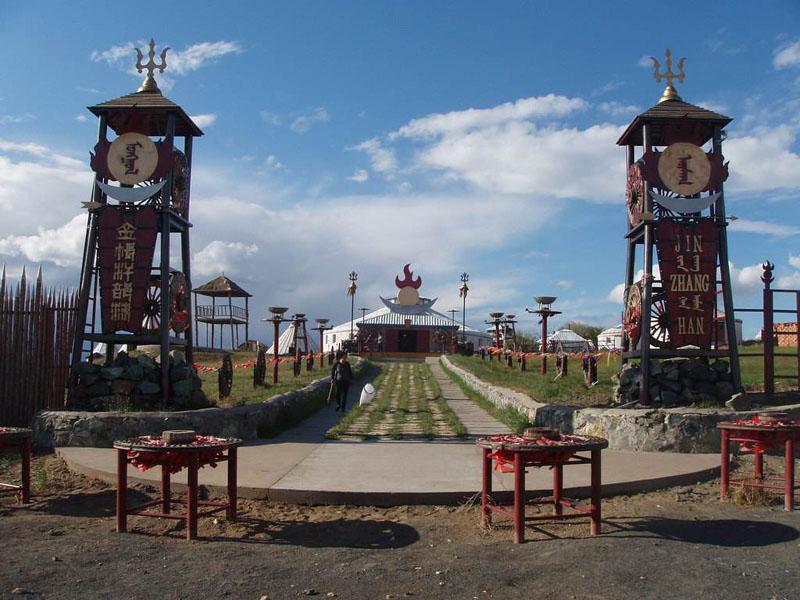 呼伦贝尔特色旅游景区巴尔虎蒙古部落?