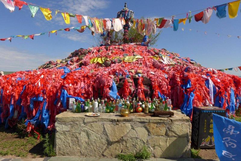 呼伦贝尔民俗文化祭敖包