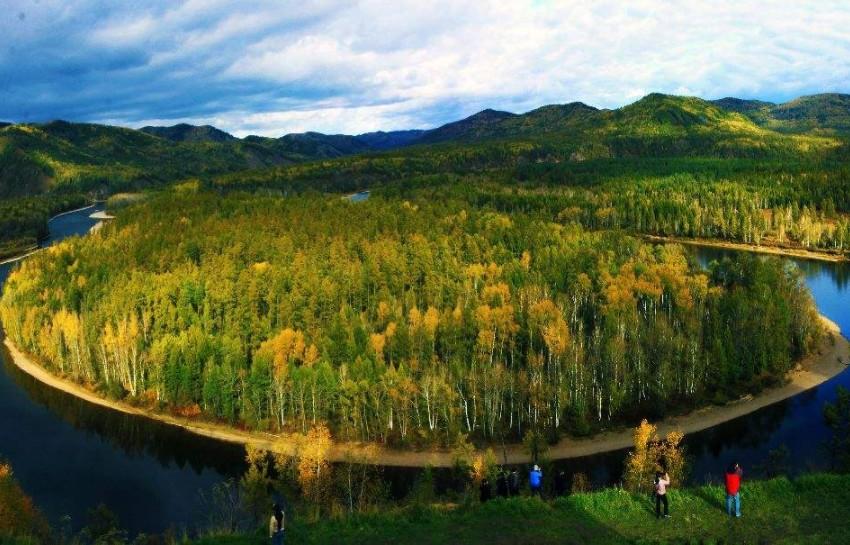呼伦贝尔旅游莫尔道嘎森林公园