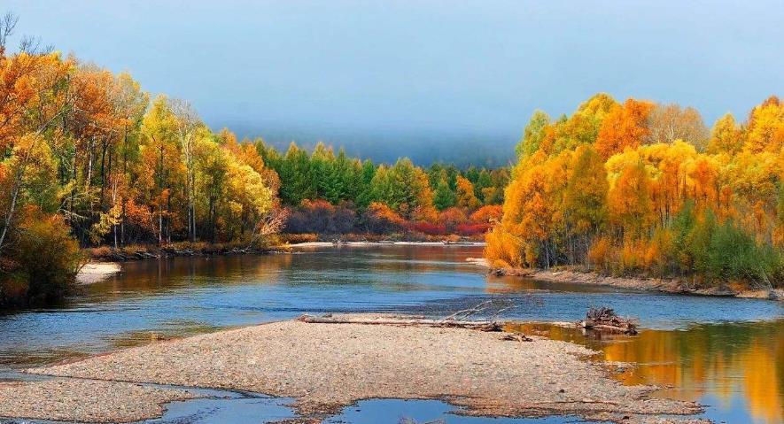 秋季呼伦贝尔一路向北七日游路线