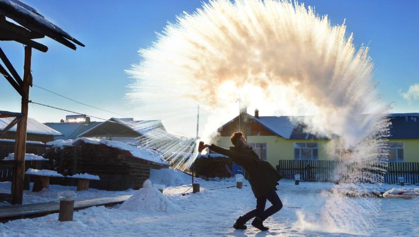 冬季北极村旅游