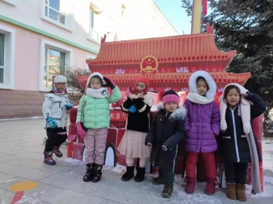 """海拉尔""""助力十四冬""""举办儿童嬉戏冰雪节"""