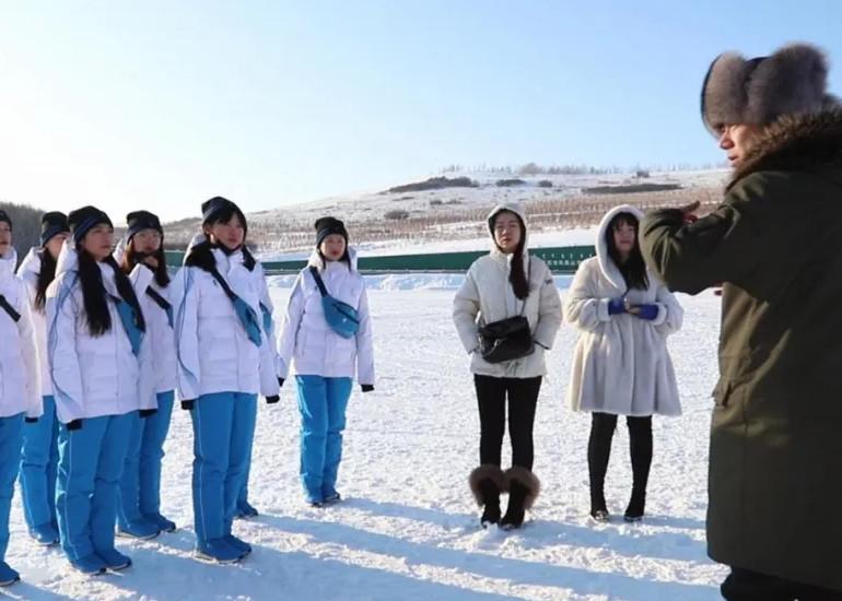 """""""十四冬""""牙克石分赛区组织志愿者综合演练内容"""