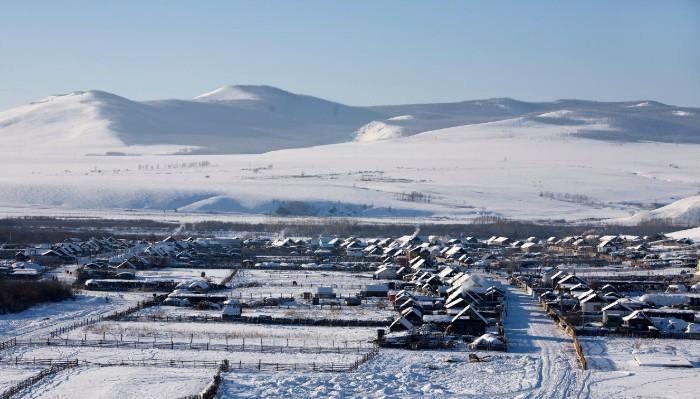 呼伦贝尔冬季平均温度 南方游客能适应吗?