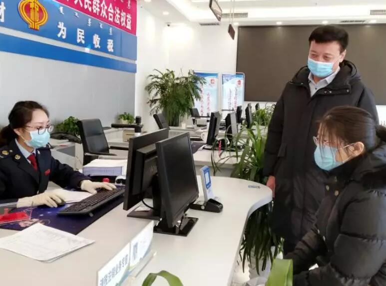 税务局如何为疫情相关企业排忧解难情况