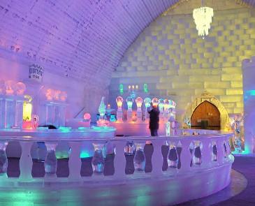 呼伦贝尔冬季旅游住冰雪酒店怎么样 冷不冷?