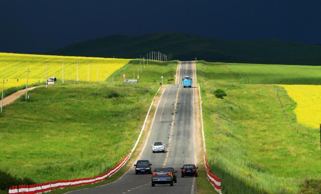 中国最美的边防公路904县道