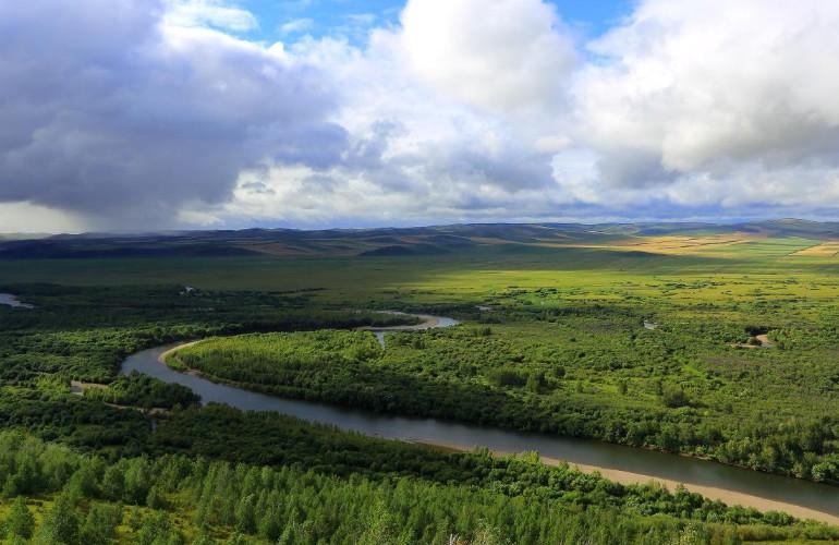 呼伦贝尔额尔古纳河