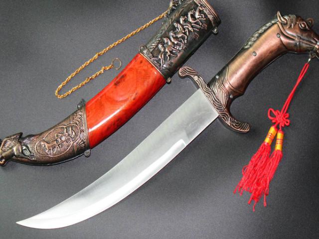 呼伦贝尔的特产蒙古刀