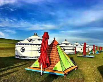 呼伦贝尔旅游可以住帐篷吗?