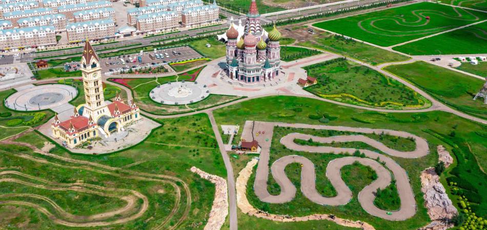 扎赉诺尔猛犸象旅游景区 满洲里猛犸公园简介