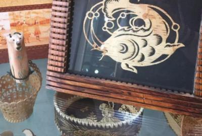 呼伦贝尔特产介绍之桦树皮制品
