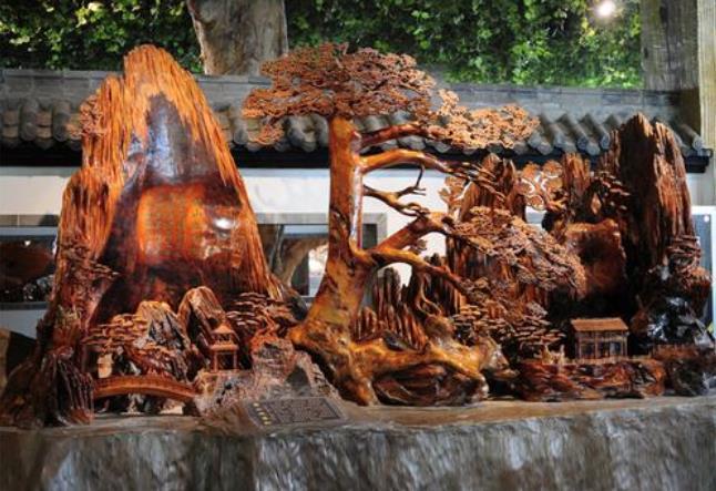呼伦贝尔特产介绍木雕根雕