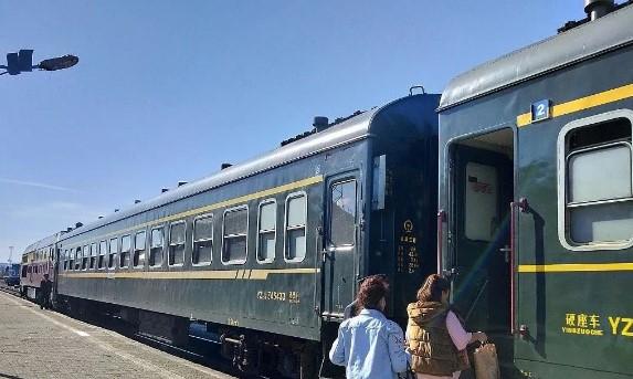 2021年4月10日起满归到海拉尔火车提速一个半小时